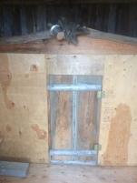 Rustic maqii steam bath house with drift wood.
